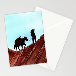 Gold Mining Stationery Cards