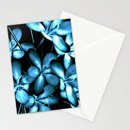 Wildflowers In The Night Light Stationery Cards