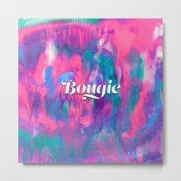 Bougie Colorful Abstract Painting Metal Print