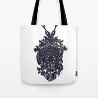 clockwork Tote Bags featuring Clockwork by Jamie Bryan