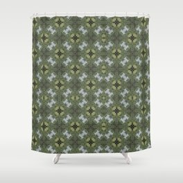 Verdigris Woodland Shower Curtain
