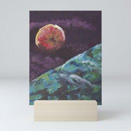 Apple painting Mini Art Print