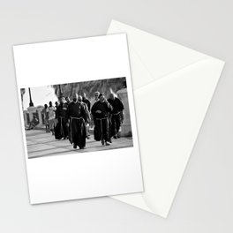 A holy afternoon stroll on the Lungomare of Reggio Calabria, Italy Stationery Cards