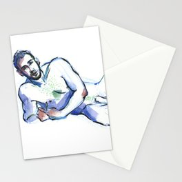 ANDRE, Nude Male by Frank-Joseph Stationery Cards