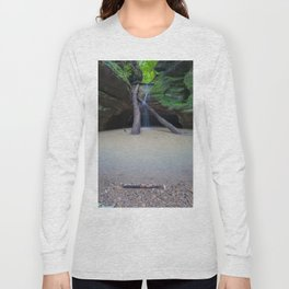 Time Passes and Waterfalls Long Sleeve T-shirt
