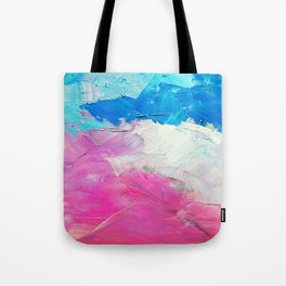 Colorful Oil Painting Tote Bag