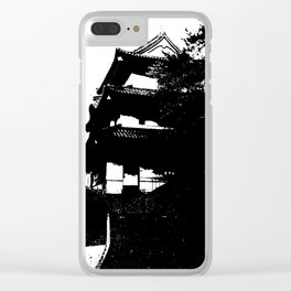 Nihongo tatemono Clear iPhone Case