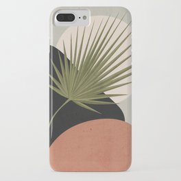 Tropical Leaf- Abstract Art 5 iPhone Case