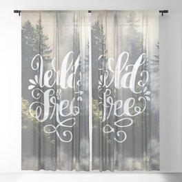 Wild & Free Sheer Curtain