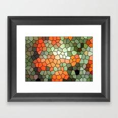 Pattern 6 - Tree Love Framed Art Print