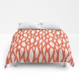 Quail Feathers (Poppy) Comforters