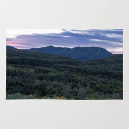 Evening Mountains Rug