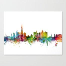 Dubai Skyline Canvas Print