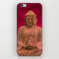 meditation iPhone & iPod Skins featuring meditation by hannes cmarits (hannes61)