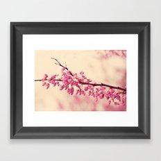 blossom love Framed Art Print