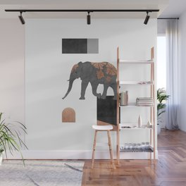 Elephant Mosaic II, Animals Wall Mural