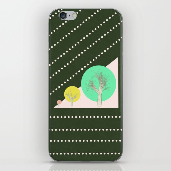 In my world forests are geometric iPhone & iPod Skin