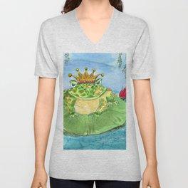 Frog King Unisex V-Neck