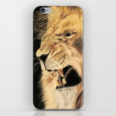 A Lion's Voice iPhone & iPod Skin