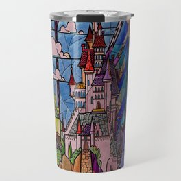 Castle Stained Glass Travel Mug