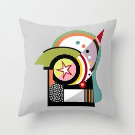 Bauhaus II Throw Pillow