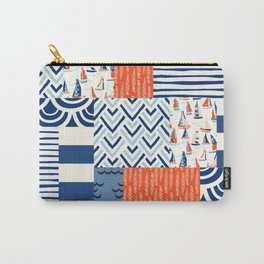Beautiful Patch 9 (Nautical) Carry-All Pouch