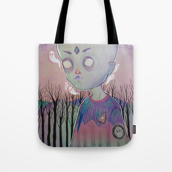 Little Ghost Tote Bag