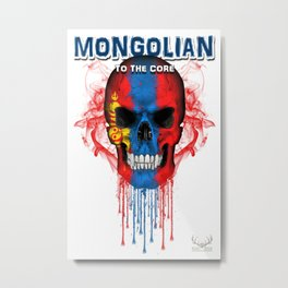 To The Core Collection: Mongolia Metal Print