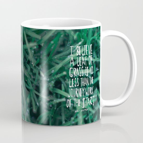 Leaf of Grass Mug