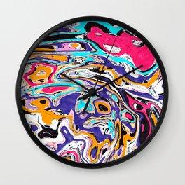 Marbled II Wall Clock