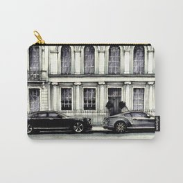 THE STREET OF LONDON IN GREYS Carry-All Pouch