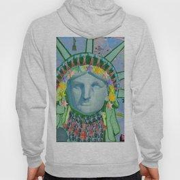 Statue of Liberty New York Hoody