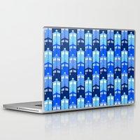 tardis Laptop & iPad Skins featuring Tardis by Casual Glitz