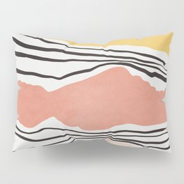Modern irregular Stripes 01 Pillow Sham
