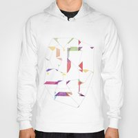 fly Hoodies featuring fly  by sandesign