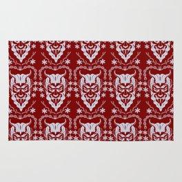 Krampus Red Rug