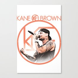 kane brown tour world 2018 Canvas Print