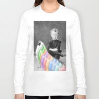 lsd Long Sleeve T-shirts featuring LSD Chicken by Whiteashes