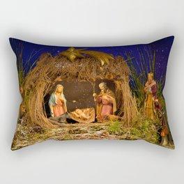 Nativity scene Rectangular Pillow