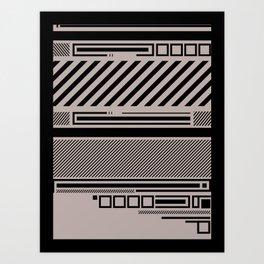 Linear Connection Art Print
