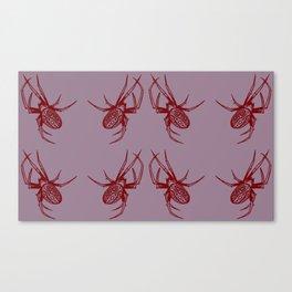 Candy Garden Spider Canvas Print