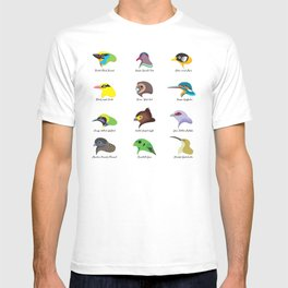Montane Birds Series 2 T-shirt