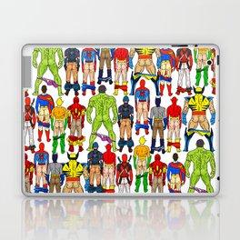 Superhero Butts Laptop & iPad Skin
