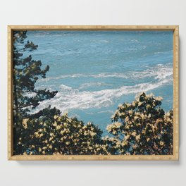 Tides and Pines Serving Tray