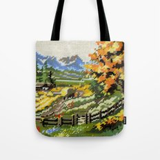 Found Tapestry Landscape Tote Bag