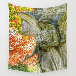 Guardian Angel Wall Tapestry