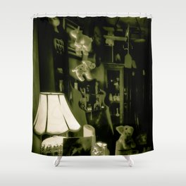 If Pigs Could Fly -  Vintage Shower Curtain