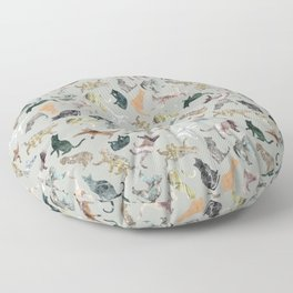 Marble Cats Floor Pillow