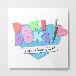 Doki Doki Literature Club Metal Print