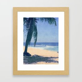 Island Feel Framed Art Print